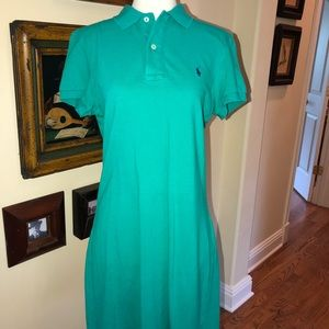 Polo Sport dress Size Medium Turquoise